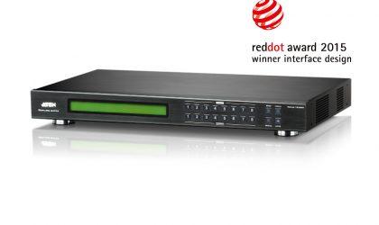 VM5808D 8 x 8 DVI Matrix Switch with Scaler