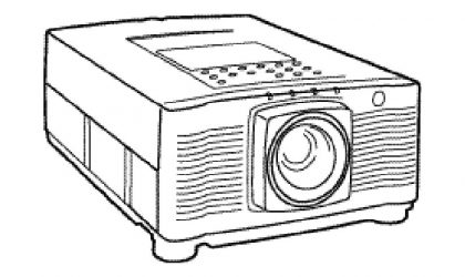 LC-X990 LCD Projector