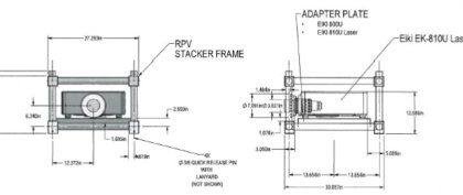 3175-5049 Custom Rigging Frame