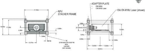 3175 5049 Custom Rigging Frame