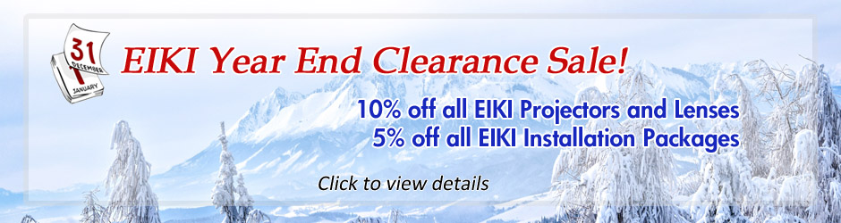 EIKI Year End Clearance