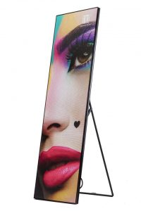 ledposter front stand