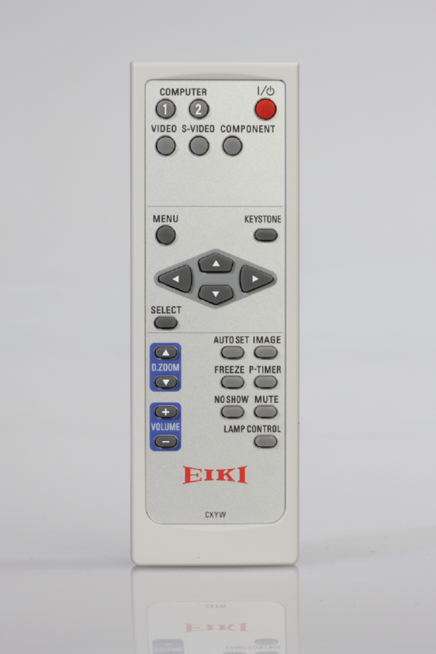 New EIKI LC-XB250 LC-XS25A Projector Remote Control